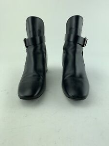 TODS Black Leather Ankle Boot, Italy 35.5