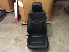 2006-2012 BMW 328I 335I FRONT LEFT DRIVER SEAT BLACK LEATHER ELECTRIC W/O SPORT