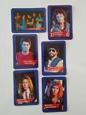 Night Ranger Rock Star Concert Cards Set of 6 1985 AGI