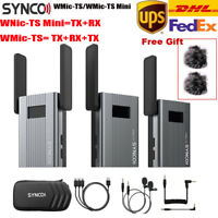 SYNCO WMic-TS UHF Wireless Microphone System For Youtube Vlogging Live broadcast