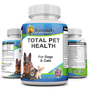 Total Pet Health with vitamins, minerals & herbal ingredients For Dogs and Cats