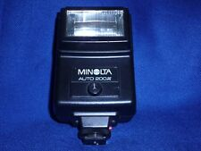 Minolta Auto 200X Shoe Mount Flash