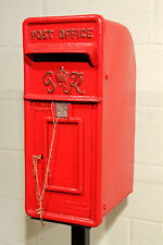 Antique British Royal Mail King George 6th Red Post Box  -  Warwick Reclamation