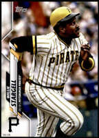 Willie Stargell 2020 Topps Short Print Variations 5x7 #375 /49 Pirates