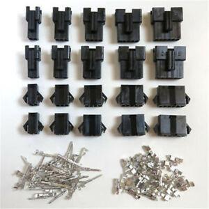 10 paires Males / Femelles connecteurs JST-SM 2 3 4 5 6 7 8 Pins à sertir Crimps