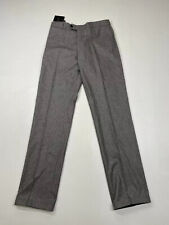 JAEGER Trousers - W32 L34 - Grey - Wool - New With Tags - Men's