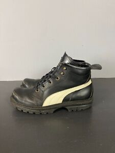 Vtg Puma Rudolf Dassler Schuhfabrik Football Boot (Black) Size 10.5