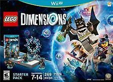 LEGO Dimensions: Starter Pack Nintendo Wii U NEW FACTORY SEALED INC. MINIFIGURES