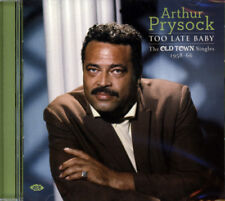 Arthur Prysock Too Late Baby The Old Town Singles 1958-66 Ace CDTOP 1401