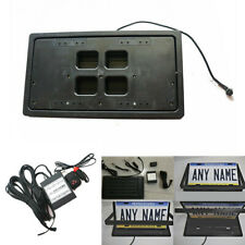 USA Standard Size Car Retractable License Plate Frame Cover with Remote Control