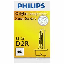 Philips Genuine D2R 85126C1 Xenon HID Upgrade Headlight Bulb, Made in Germany