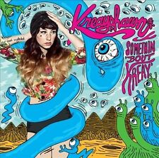 Somethin' 'Bout Kreay [PA] by Kreayshawn (CD, Sep-2012, Columbia (USA) sealed,dh