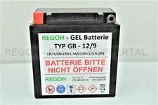 1 Stück REGOH Gel Batterie Baugleich Dong Jing 12V 7-9Ah Schneefräse