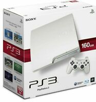 SONY PS3 PlayStation 3 160GB CECH-2500A LW White Game console