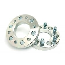 2 Pcs 1 Inch Wheel Spacers 6X139.7 To 6X139.7 | 108 CB | 12X1.5 For Toyota Chevy