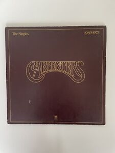THE CARPENTERS-The Singles 1969-1973-A&M Stereo Vinyl Gatefold LP- AMLH 63601