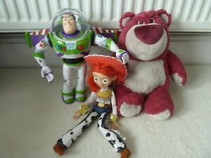Toy Story bundle Buzz, Jessie and Lotso
