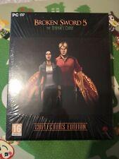 Espada rota 5 la serpiente's maldición Gran Caja de PC-DVD (Nuevo Sellado)
