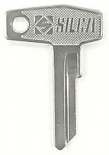 1984+ Cagiva SST125 Low Rider RL RR Motorcycle Key Blank Blanks ZD9-SI  ZD9