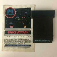 SPACE ATTACK M NETWORK for Atari 2600  Original Game Cartridge and Manual