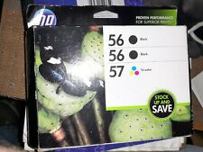HP 56/56/57 Tri-Combo Pack