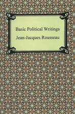 Basic Political Writings by Jean-jacques Rousseau (2013, Paperback)