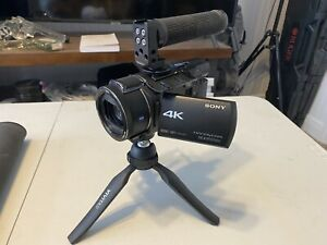 Sony FDRAX53/B 4K HD Video Recording Camcorder (Black) With Accessories!
