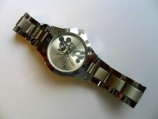 Impresionante One and Only Mickey Mouse Adulto Reloj De Acero Inoxidable