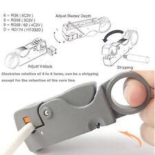 1X Pince Dénuder Coupe Decouper Câble Fil Electrique Corde DIY Outil Extracteur