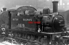 PHOTO  LNER LOCO E8619 J69 0-6-0T ON RAILWAY STATION PILOT AT LIVERPOOL STREET 1