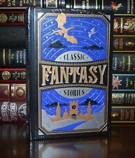 Classic Fantasy Stories Collection Lovecraft Poe New Sealed Leather Bound