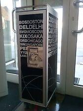 AUSSTELLUNGSSTÜCK bordbar Trolley - silver edition airports black