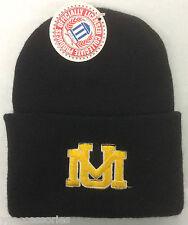 NCAA University of Montana Grizzlies Cuffed Winter Knit Hat Cap Beanie NEW!