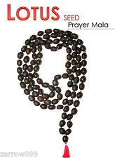 KAMAL GATTA  LOTUS SEED JAPA MALA LAXMI PRAYER YOGA HINDU MEDITATION FOR WEALTH