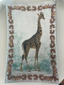Giraffe Serving Dish Rectangle Unique Design Home Interiors