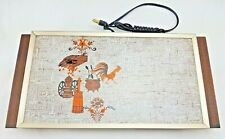 Vintage Farm Chicken Themed Electric Warming Tray Plate