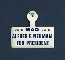 """Jo Anne Worley """"THE MAD SHOW"""" Alfred E. Neuman 1966 Promotional Metal Tab Pin"""