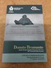 2 EURO SAN MARINO 2014 Donato Bramante Moneta commemorativa-spedizione gratis in UK