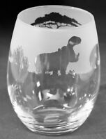HIPPO Frieze Boxed 36cl Crystal Stemless Wine / Water Glass