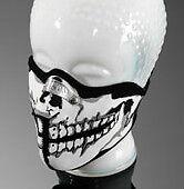 foulard moto tete de mort  tour cou bandana chopper neo skull cadeau noel