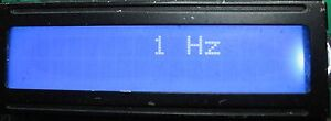 FREQUENCY COUNTER 1HZ-80MHZ WITH 1HZ RESOLUTION