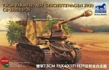 BRONCO 1/35 35004 7.5 cm pak40 (SF) geschutzwagen H39