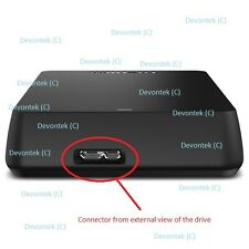 Toshiba Canvio Connect Micro USB 3.0 Connector Port Repair Service