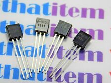 J111 / COMPARABLE TO ECG468, NTE468 / FET / TO92 / 4 PIECES (QZTY)