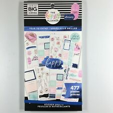 The Happy Planner Year To Shine Sticker Book Pack Of 477 Me & My Big Ideas