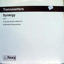 "Trancesetters - Synergy Disc 1 12"" VG+ HOOJ 107 Vinyl 2001 Record"