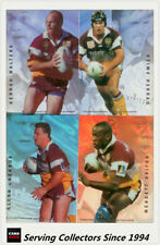 Acetate Brisbane Broncos NRL & Rugby League Trading Cards