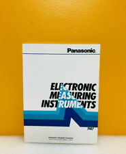Panasonic Electronic Measuring Instruments Catalog 1987