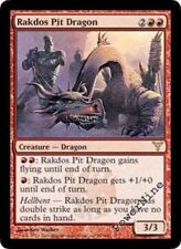 4 PLAYED Rakdos Pit Dragon - Red Dissension Mtg Magic Rare 4x x4
