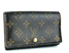 Authentic Louis Vuitton Monogram Canvas Leather Bi-fold Wallet Purse Made Spain